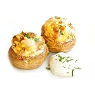Ккартофель с начинкой из грибов и курицы Фото