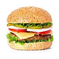 Американский бургер Фото