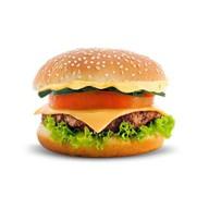Свиной бигбургер Фото