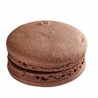 Французский макарон шоколадный Фото