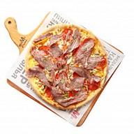 Пицца с Пастрами и печеным перцем Фото