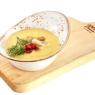 Крем суп из кукурузы с фрикадельками Фото