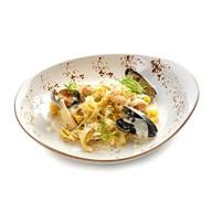 Тальятелле с морепродуктами Фото