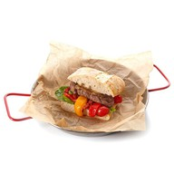 Итальянский сендвич с ростбифом Фото