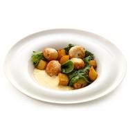 Котлетки из судака с картофелем Фото