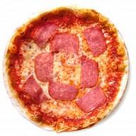 Мини-пицца с колбасками Фото
