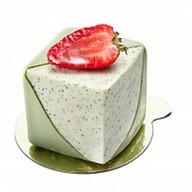 Пирожное Клубника-мята Фото