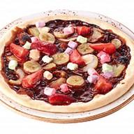 Мини-пицца с фруктами Фото