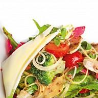 Салат овощной по-деревенски Фото