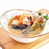 Суп из морепродуктов Каччукко Фото