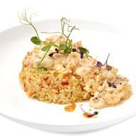 Тайский рис с морепродуктами в соусе Фото