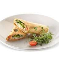 Сэндвич с тунцом и сыром рикотта Фото