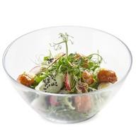 Салат с митболами из индейки и овощами Фото