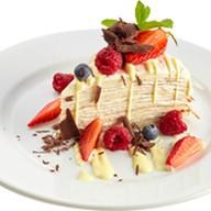 Блинный торт Фото