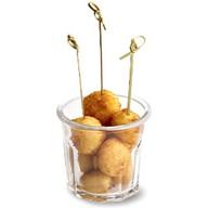 Сырные шарики с оливками Фото