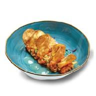 Тар-тар из лосося с чипсами Фото