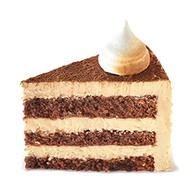 Торт шоколад-карамель Фото