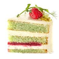 Торт фисташка/малина Фото