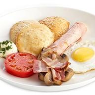 Большой английский завтрак Фото