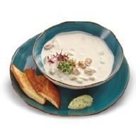 Норвежский сливочный суп с рыбой Фото
