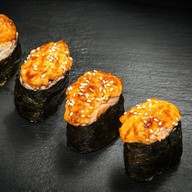 Запеченный суши сет Фото