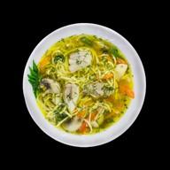 Куриная лапша суп Фото