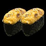 Горячие суши мидии Фото