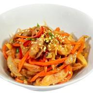 Тайский грибной салат Фото