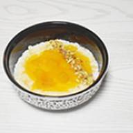 Каша рисовая с манго и фисташкой Фото