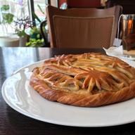 Пирог с беконом и луком Фото