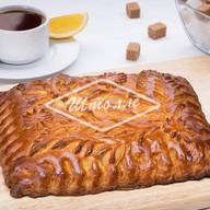 Пирог с лимоном Фото