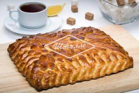 Пирог с зеленым луком (заказ за 1 день) - Фото