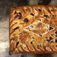 Пирог Зимняя малина Фото