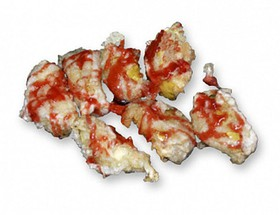 Яблоко-темпура - Фото
