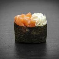 Суши сливочный лосось Фото