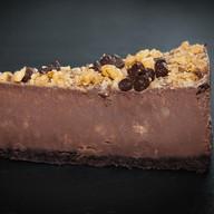 Чизкейк с шоколадом и орехами Фото