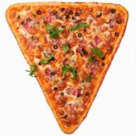 Пицца с мясом Фото