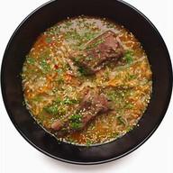 Суп со свиными ребрами Фото