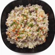 Рис с говядиной и овощами Фото
