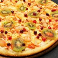 Десерт пицца Фото