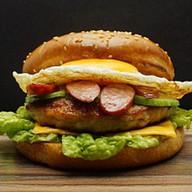 Бургер 10 Люкс Фото