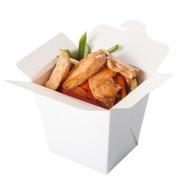 Гречневая лапша с курицей и овощами Фото