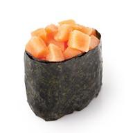Сливочный лосось (гункан) Фото