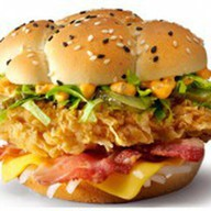 Шефбургер острый Фото