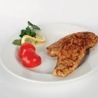 Маринованное куриное филе на риле Фото