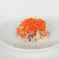 Салат из говядины с корейской морковкой Фото