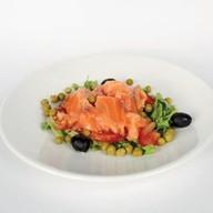 Салат из сёмги Фото