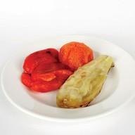 Шашлык из овощей Фото