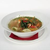 Суп овощной с курицей Фото