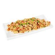 Рис с курицей и креветкой Фото